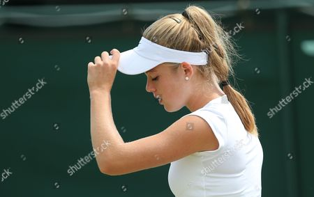Editorial picture of Wimbledon Championships 2015 Qualifying Wednesday Qualifying Bank of England Sports Centre, Priory Ln, London, United Kingdom - 24 Jun 2015