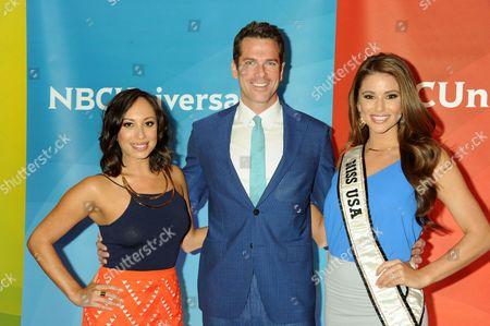 Cheryl Burke, Thomas Roberts, Miss USA Nia Sanchez