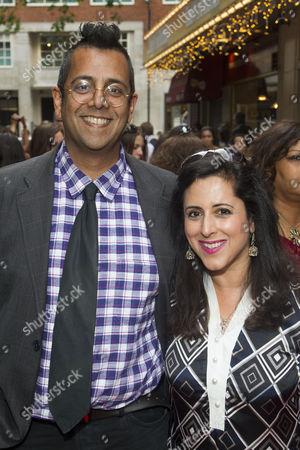 Simon Singh and Anita Anand
