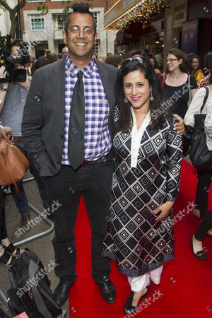 Stock Picture of Simon Singh and Anita Anand