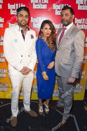 Raj Bajaj (Teetu), Preeya Kalidas (Pinky) and Irvine Iqbal (Uncle)