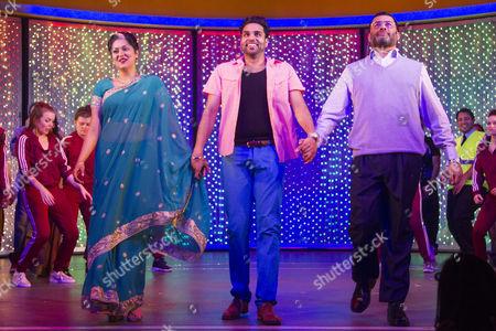 Sohm Kapila (Aunty), Raj Bajaj (Teetu) and Irvine Iqbal (Uncle)