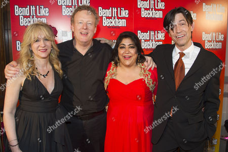 Sonia Friedman (Producer), Howard Goodall (Music), Gurinder Chadha (Author/Director) and Charles Hart (Lyrics)