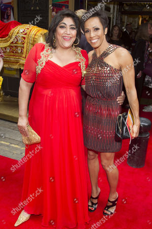 Stock Photo of Gurinder Chadha (Author/Director) and Anita Anand