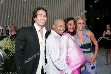 Karl Yune, Eugene Byrd, Salli Richardson and KaDee Strickland