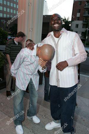 Eugene Byrd and Morris Chestnut