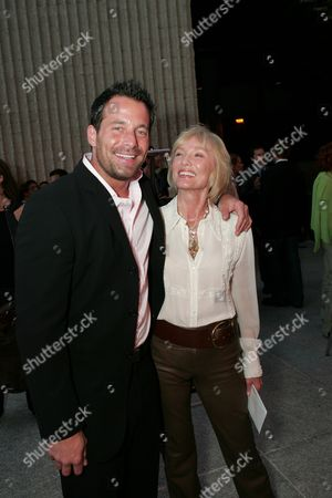 Johnny Messner and Producer Verna Harrah