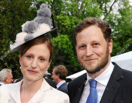 Prince George and Princess Sophie of Isenburg of Prussia