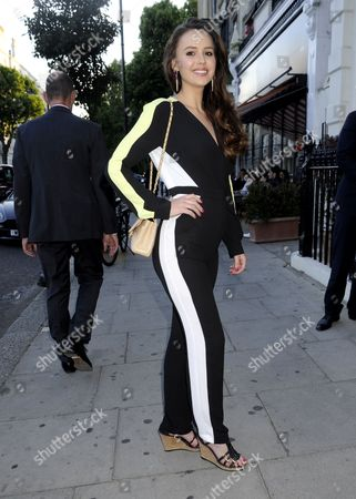 Editorial picture of The South Kensington Club's Summer Party, London, Britain - 25 Jun 2015