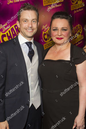 Derek Hagen (Mr Bucket) and Jasna Ivir (Mrs Gloop)