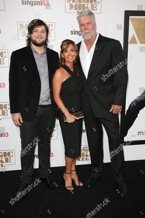 Kevin Nash and with family