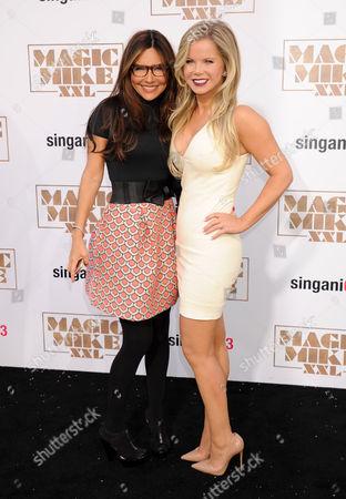 Vanessa Marcil and Crystal Hunt