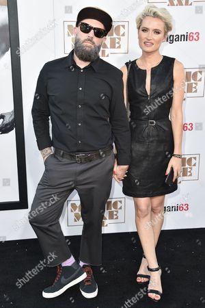 Fred Durst and Kseniya Beryazina