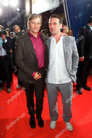 Viggo Mortensen and David Oelhoffen