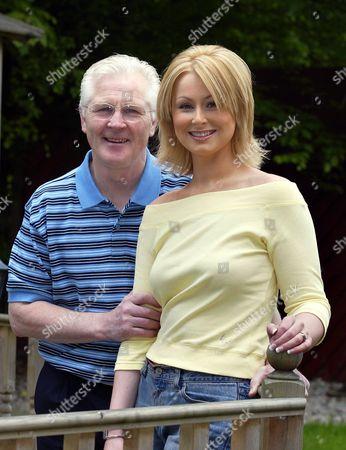 Jim Watt with daughter Michelle Watt