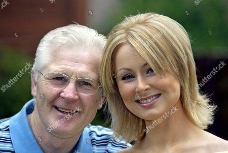 Stock Picture of Jim Watt with daughter Michelle Watt