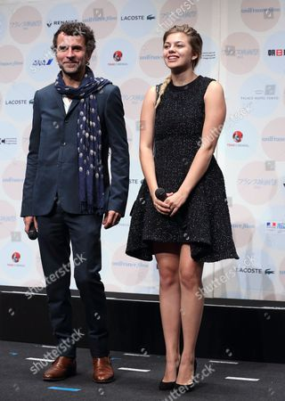Eric Lartigau and Louane Emera
