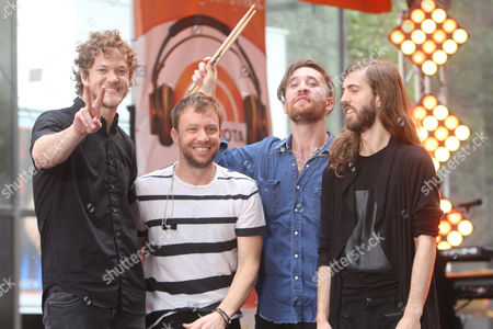 Imagine Dragons - Dan Reynolds, Ben McKee, Daniel Platzman, Daniel Wayne Sermon