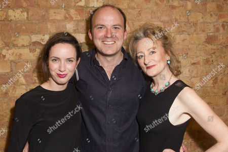 Kate O'Flynn (Tiffany/Female Guard/Rosa/Chastity/Cherry/Girl), Rory Kinnear (Josef K) and Sian Thomas (Mrs Grace/Doctor)