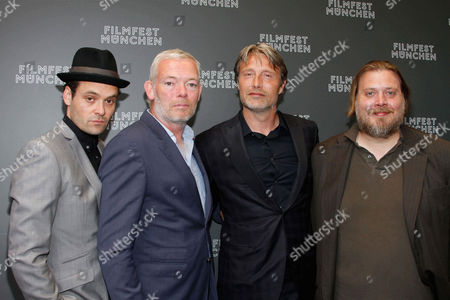 David Dencik, Soren Malling, Mads Mikkelsen, Nicolas Bro at the 'Men & Chicken' premiere