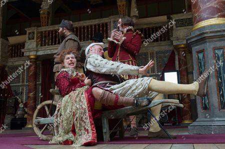 Editorial photo of 'Measure for Measure' play, Shakespeare's Globe, London, Britain - 27 Jun 2015