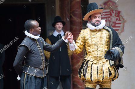 Kurt Egyiawan (Angelo), Dominic Rowan (Duke Vincentio)