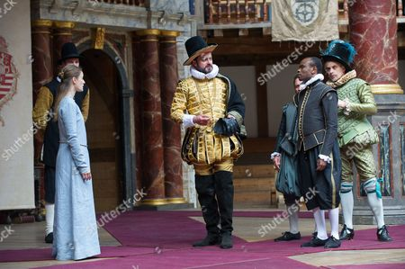 Mariah Gale (Isabella), Dominic Rowan (Duke Vincentio), Kurt Egy