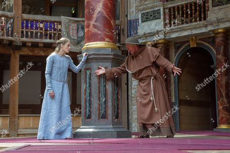 Mariah Gale (Isabella), James Lailey (Friar Peter)