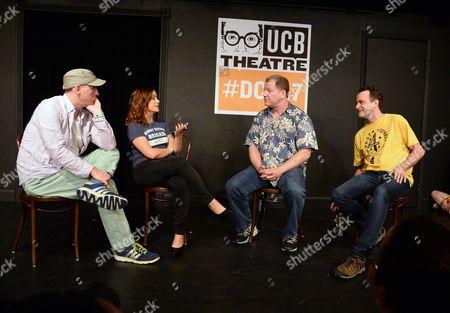 Matt Walsh, Amy Poehler, Matt Besser and Ian Roberts
