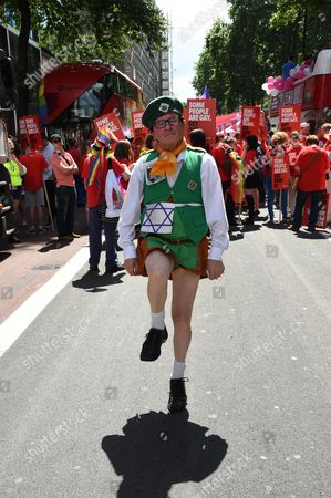 Editorial photo of Pride in London parade, Britain - 27 Jun 2015