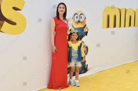 Editorial photo of 'Minions' film premiere, Los Angeles, America - 27 Jun 2015