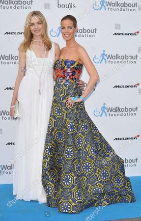 Natalia Vodianova and Carolina Gonzalez Bunster