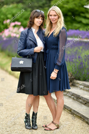 Charlotte Stockdale and Jodie Kidd