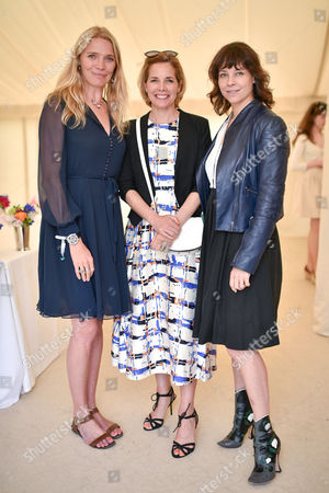 Jodie Kidd, Darcey Bussell and Charlotte Stockdale