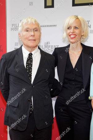 Glenn O Brien and Katja Eichinger