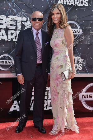 Editorial photo of BET Awards arrivals, Los Angeles, America - 28 Jun 2015