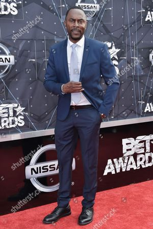 Editorial image of BET Awards arrivals, Los Angeles, America - 28 Jun 2015