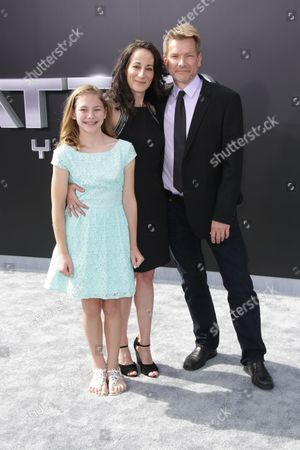 Patrick Lussier and family