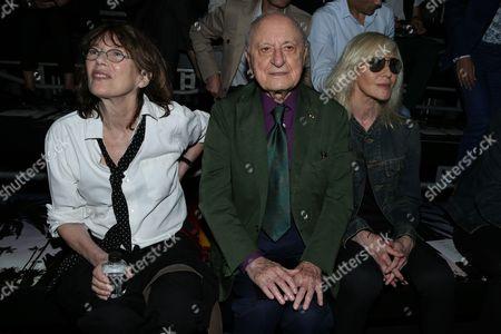 Jane Birkin, Pierre Berge, Betty Catroux