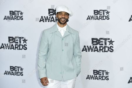 Editorial image of BET Awards press room, Los Angeles, America - 28 Jun 2015
