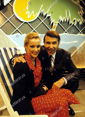 Kelly Hampson [Kylie Minogue] and Leslie Crowther