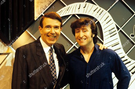 Leslie Crowther and Gary Gibson [John Lennon]