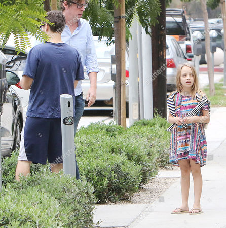 Tobey Maguire and daughter Ruby Maguire