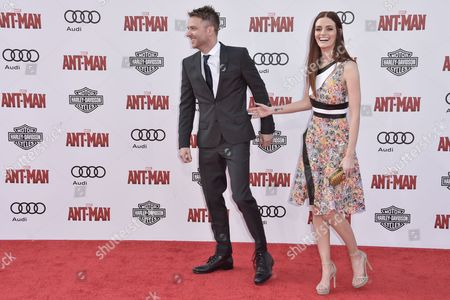 Stock Picture of Chris Hardwick and Lydia Hurst