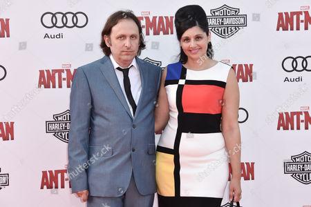 Stock Photo of Gregg Turkington and Simone Turkington