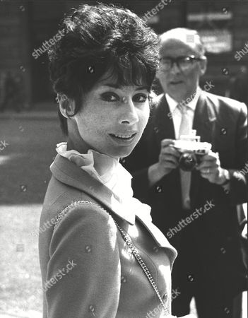 Carole Ann Ford Outside The Law Courts Where She Was Granted A Divorce From Husband Walter Jokel. Box 0591 22062015 00346a.jpg.
