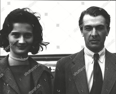 Christopher Loyd With His Wife Joanna Loyd (nee: Joanna Smith Bingham). Box 0589 180615 00181a.jpg.