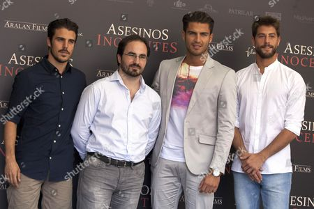 Javier Hernandez, Gonzalo Bendala, Maxi Iglesias, Luis Fernandez