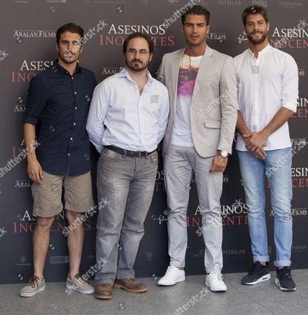 Editorial photo of 'Asesinos Inocentes' Film Premiere, Palafox Cinema, Madrid, Spain - 30 Jun 2015