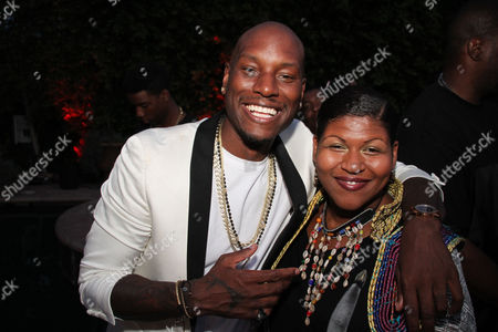 Tyrese Gibson and Stacy Barthe